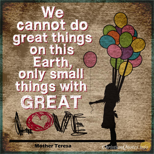 Mother-Teresa-Christian-Quote-Small-Things